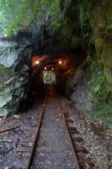 最後のトンネル!でゴール。